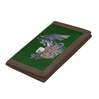 Computer Dragon Trifold Wallet
