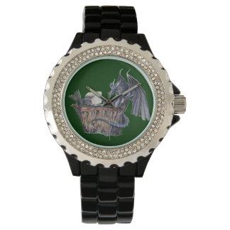 Computer Dragon Wrist Watches