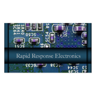 Electronic Circuits Business Cards Electronic Circuits