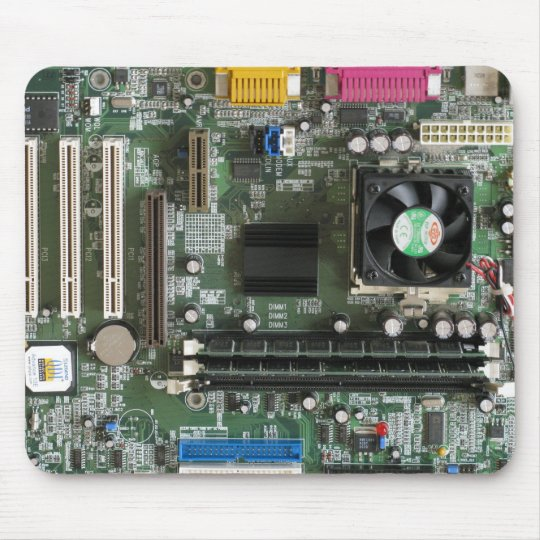 Computer electronics old Motherboard Mousepad