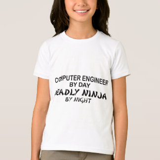 Computer Engineer Deadly Ninja T-Shirt