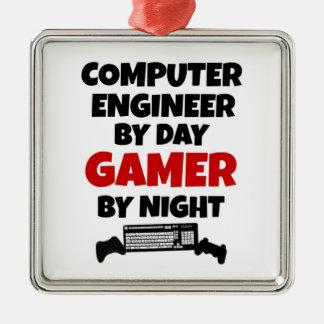 Computer Engineer Gamer Christmas Ornament