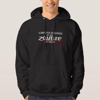 Computer Engineer Zombie Hoodies