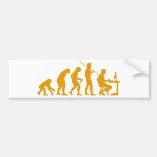 Computer Evolution Bumper Stickers