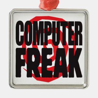 Computer Freak Christmas Tree Ornaments