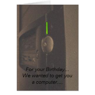 Computer Geek Card