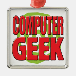 Computer Geek Christmas Tree Ornament