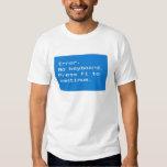 Computer Geek - Error no keyboard T-shirt