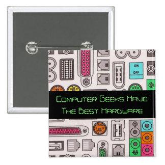 Computer Geek Humor Input Pattern Button