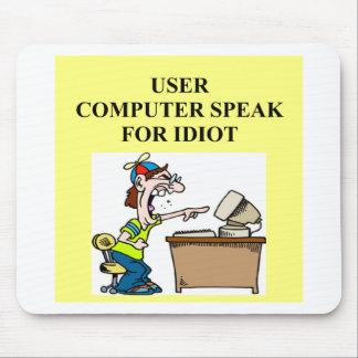 computer geek joke mouse pad