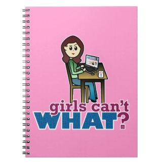 Computer Geek - Light Notebook