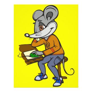 Computer Geek Mouse 21.5 Cm X 28 Cm Flyer