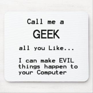 Computer Geek Mouse Mat