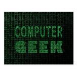 Computer Geek Postcards