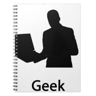 computer geek spiral note books