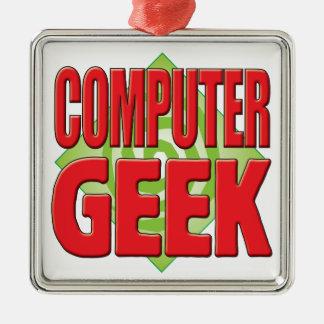 Computer Geek v2 Christmas Tree Ornament