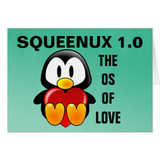 Computer Geek Valentine: Operating System for Love Note Card