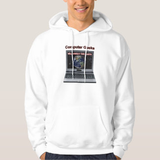Computer Geeks Will Inherit the Earth Hoodie