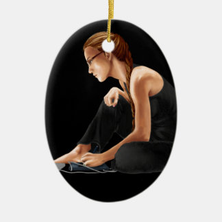 Computer Girl: Nerdy Is Beautiful Christmas Ornaments