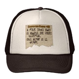 Computer Haiku #86 Hats
