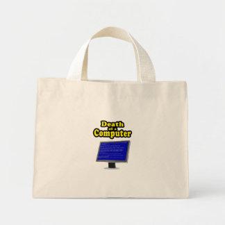 Computer Hangs Mini Tote Bag
