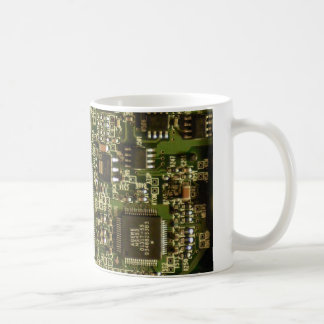 Computer Hard Drive Circuit Board Coffee Mug