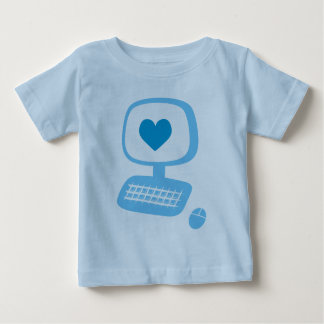 Computer Heart Infant T-Shirt