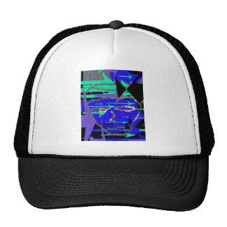 Computer Hero Man Mesh Hats