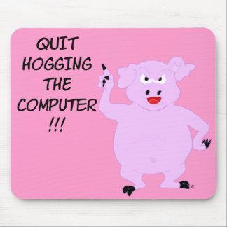 Computer Hog Mousepad