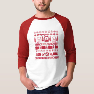 "Computer Icons ""Ugly Christmas Sweater"" design - r T-Shirt"