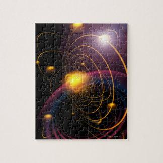 Computer illustration technique 2 jigsaw puzzle