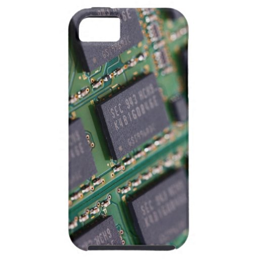 Computer Memory Chips iPhone 5 Case
