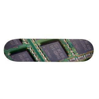 Computer Memory Chips Custom Skateboard
