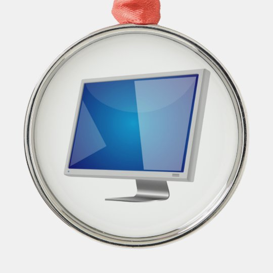 Computer Monitor Christmas Ornament