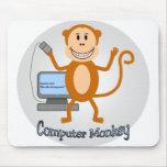 Computer Monkey mousepad