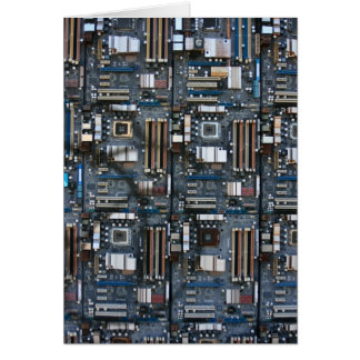 Computer motherboard card