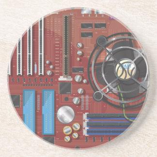 Computer Motherboard Coaster