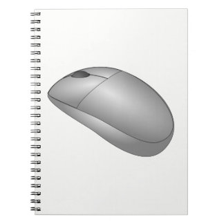 Computer Mouse Spiral Notebook