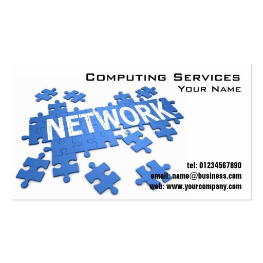 puter Network Business Cards