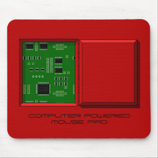 """""""COMPUTER POWERED MOUSE PAD"""" hatch & circuit board Mouse Mat"""