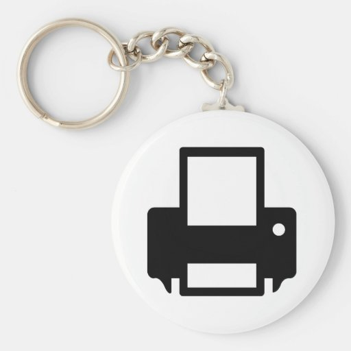 Computer Printer Key Chains