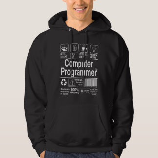 Computer Programmer Hoodie