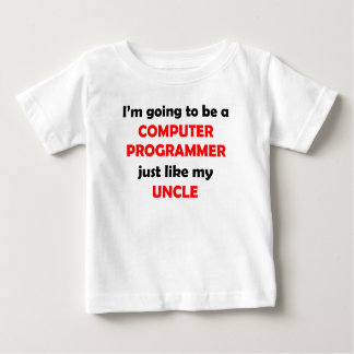 Computer Programmer Like My Uncle Baby T-Shirt