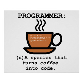 Computer Programmer Species Definition lol Poster