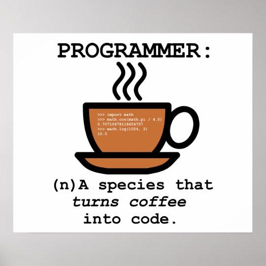 Computer Programmer Species Definition lol Poster