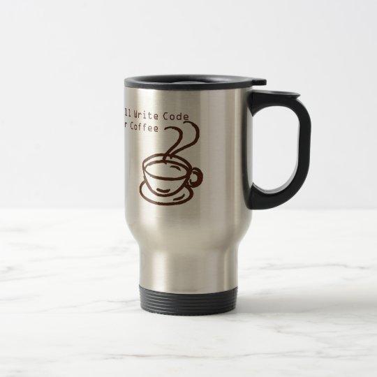 Computer Programmer Travel Coffee Mug