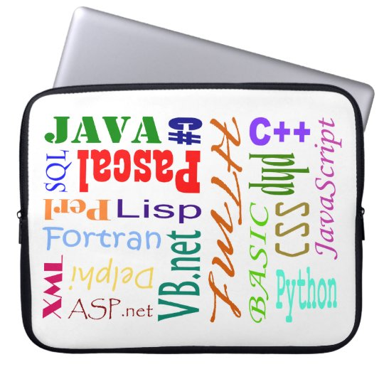 Computer Programmers Laptop Sleeve