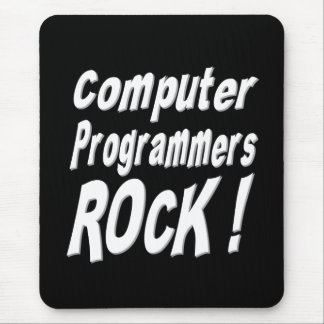 Computer Programmers Rock! Mousepad