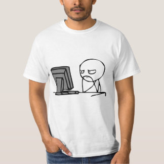 Computer Reaction Faces T-Shirt