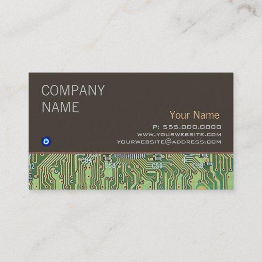 Computer Repair Business Card Zazzle